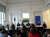 Launch event of the campaign supporting women in the elections to EP 2014
