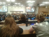 United Nations' Comittee for women's rights talks in New York 2014